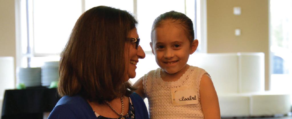 Susan and Isabel at the 2016 Volunteer Appreciation Dinner
