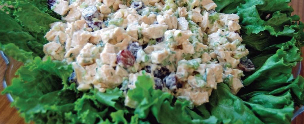 Volunteer Recipes - Chicken Salad