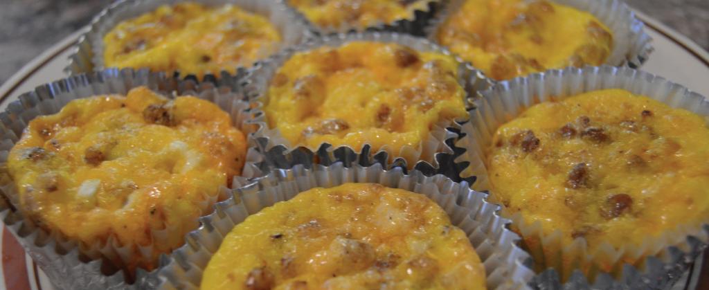 Volunteer Recipes - Scrambled Egg Muffins