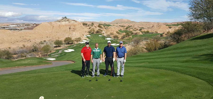 Group Photo at TPC Las Vegas